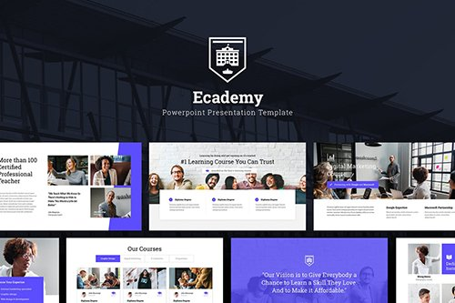 Ecademy - Powerpoint and Keynote Templates