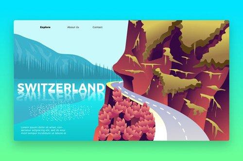 Switzerland - Banner & Landing Page