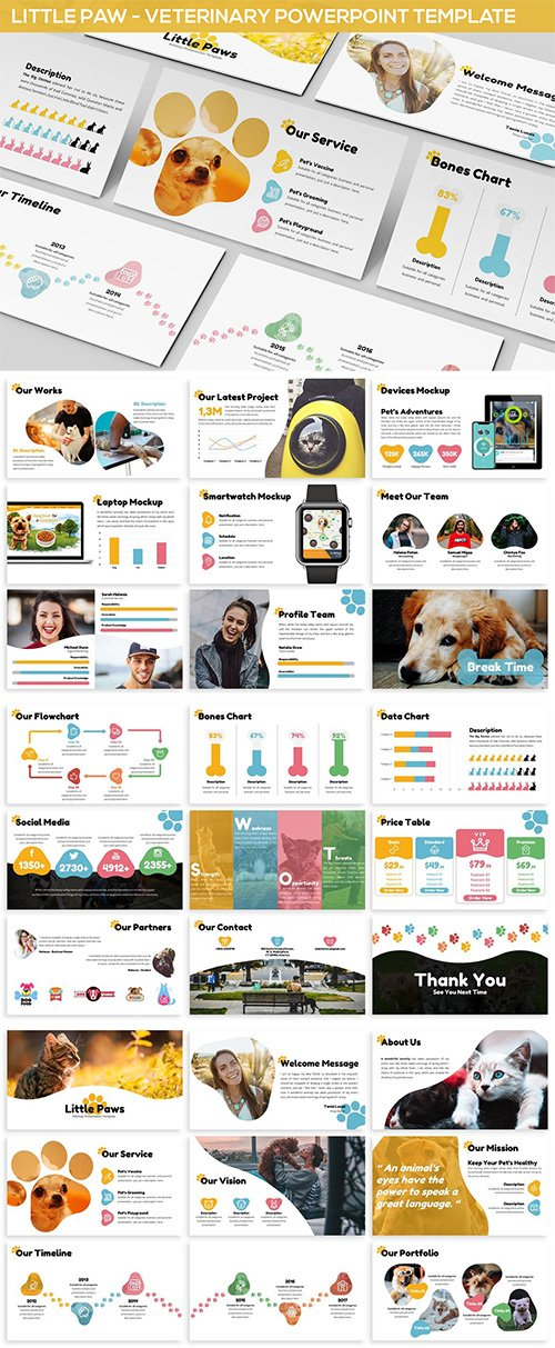 Veterinary Powerpoint Template