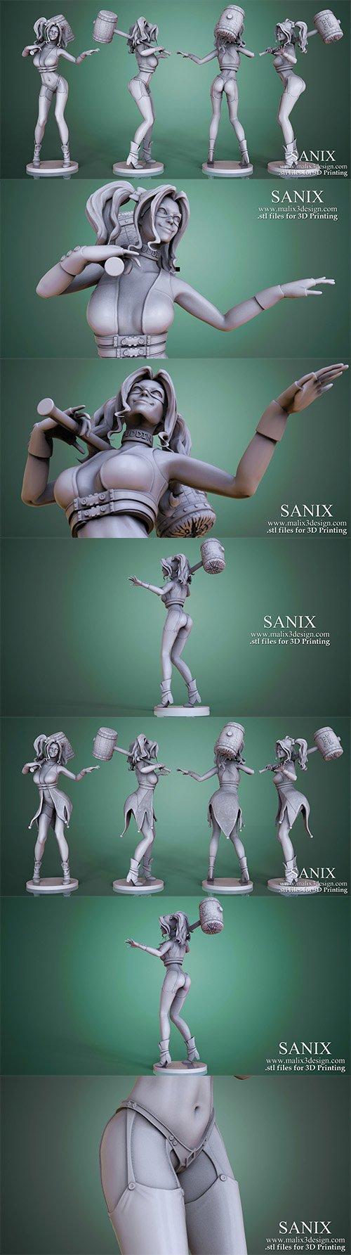 Harley Quinn - 3D Printable Model
