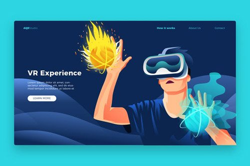 Virtual Experience - Banner & Landing Page