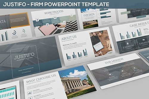 Justifo - Firm Powerpoint Presentation Template