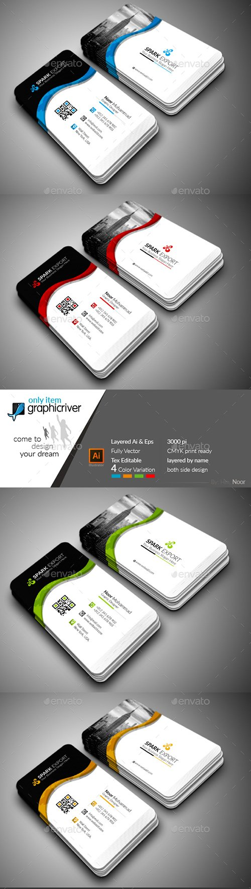 GraphicRiver - Modern Business Card 22295583