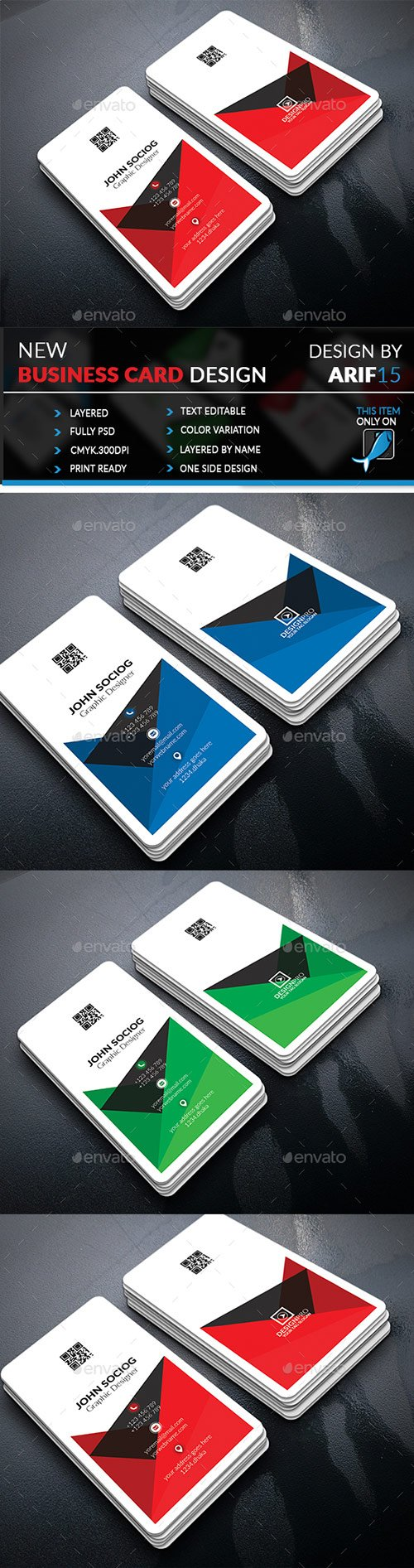 GraphicRiver - Business Card 22310461