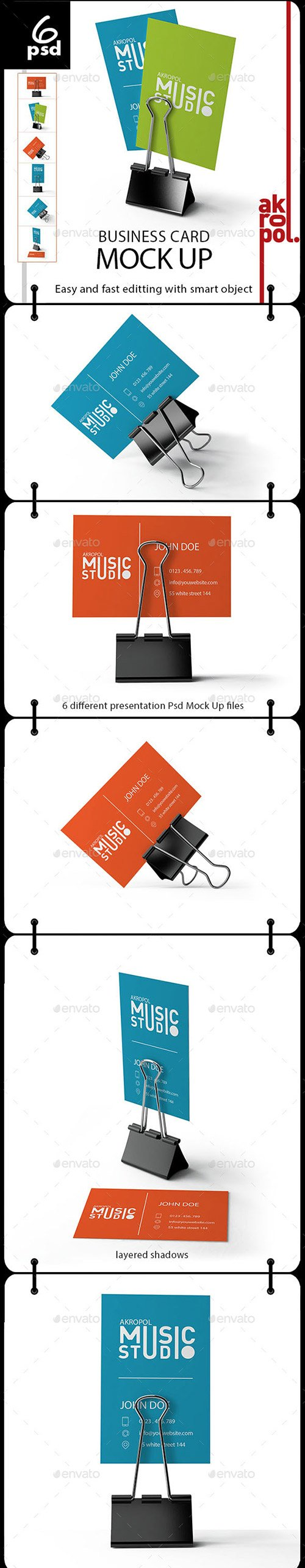 GraphicRiver - Business Card Mockup 22323548