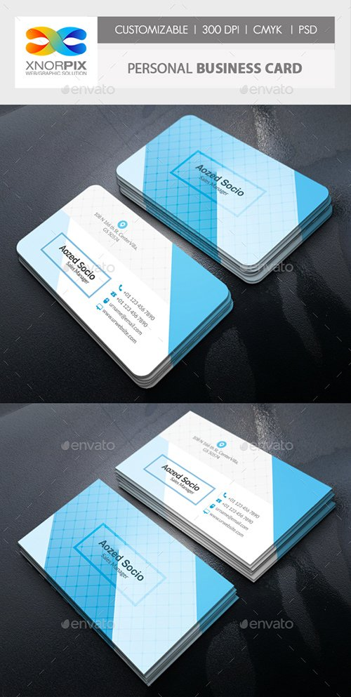 GraphicRiver - Personal Business Card 22314850