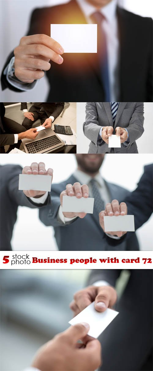 Photos - Business people with card 72