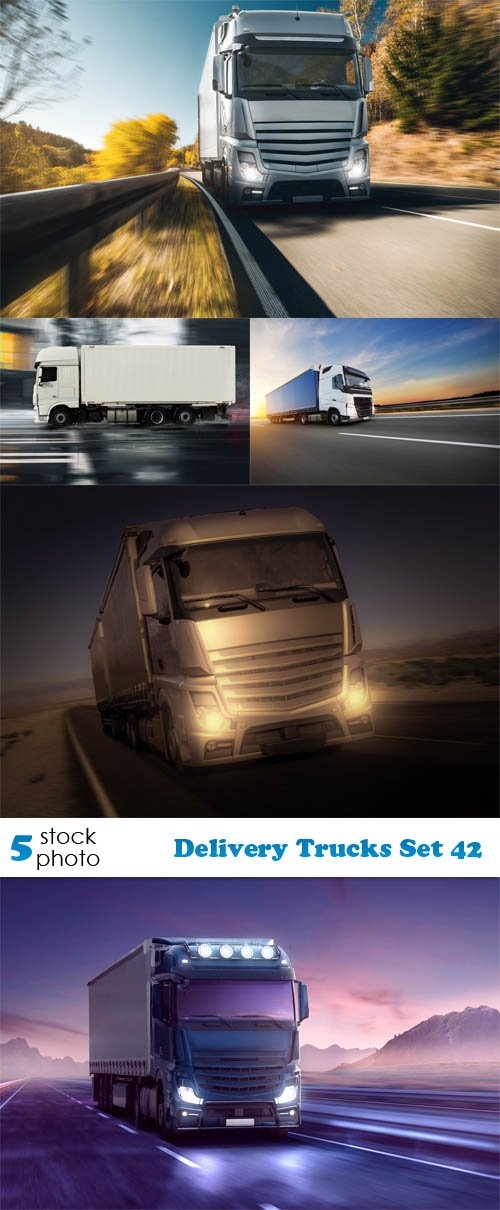 Photos - Delivery Trucks Set 42
