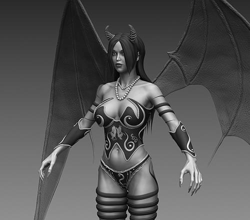 Fantasy Female Creature