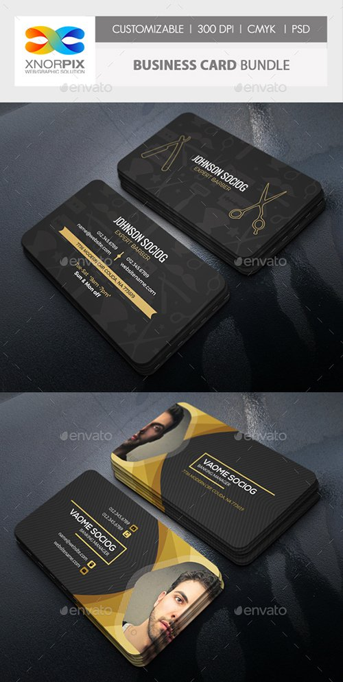 GraphicRiver - Business Card Bundle 22291757