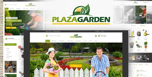 ThemeForest - PlazaGarden v1.0 - OpenCart Theme (Included Color Swatches) - 22863453