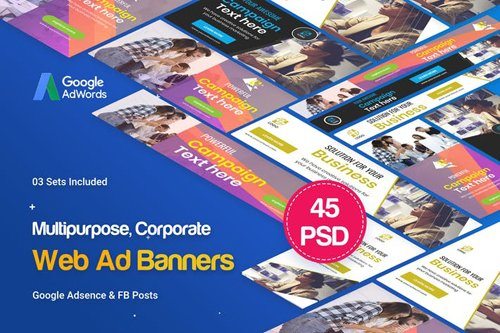 Multipurpose, Business, Startup Banners Ad - BPB7NE