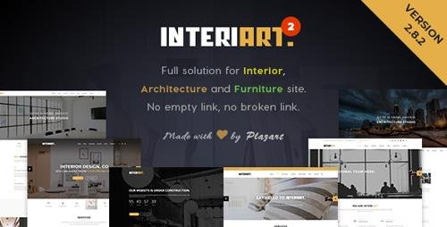 ThemeForest - InteriArt v2.8.2 - Furniture & Interior WordPress Theme - 14467105