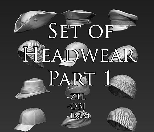 Set of Headwear Part 1