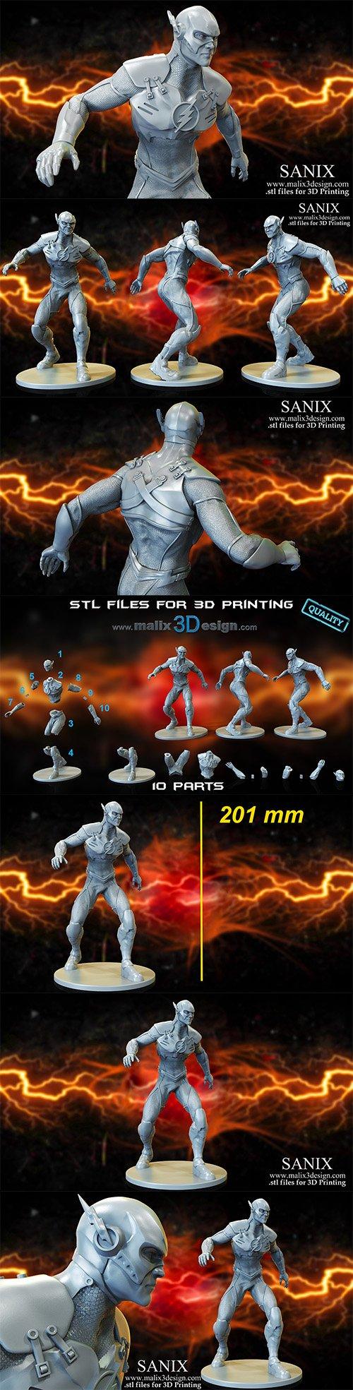 FLASH - 3D Printable Model