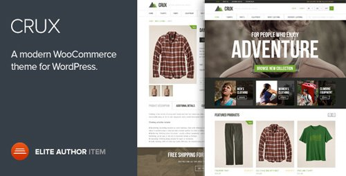 ThemeForest - Crux v2.0.0 - A modern and lightweight WooCommerce theme - 6503655