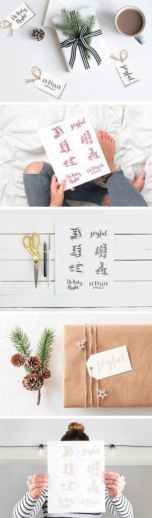 CM - Christmas Printable Gift Tags 02 3239931