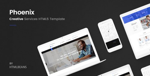 ThemeForest - Phoenix - Services HTML Template (Update: 13 October 18) - 21662562