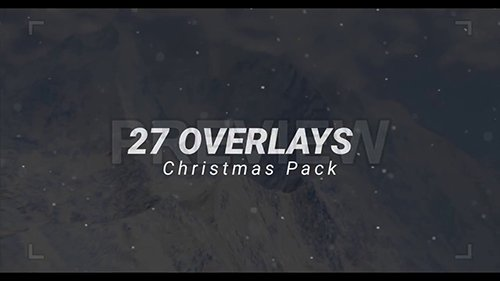 27 Overlays Christmas Pack 147759