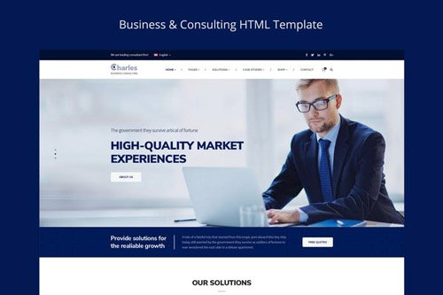 Charles- Business-Consulting PSD Template