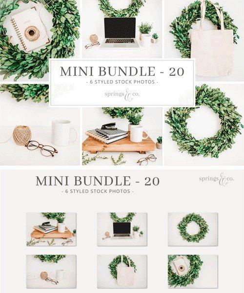 CM - Greenery Wreath Mini Photo Bundle 20 2308920