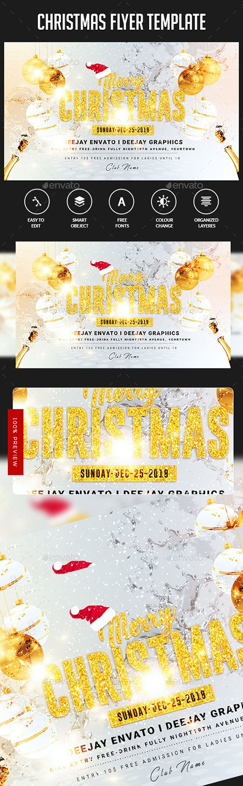 GraphicRiver - Christmas Flyer 22908015