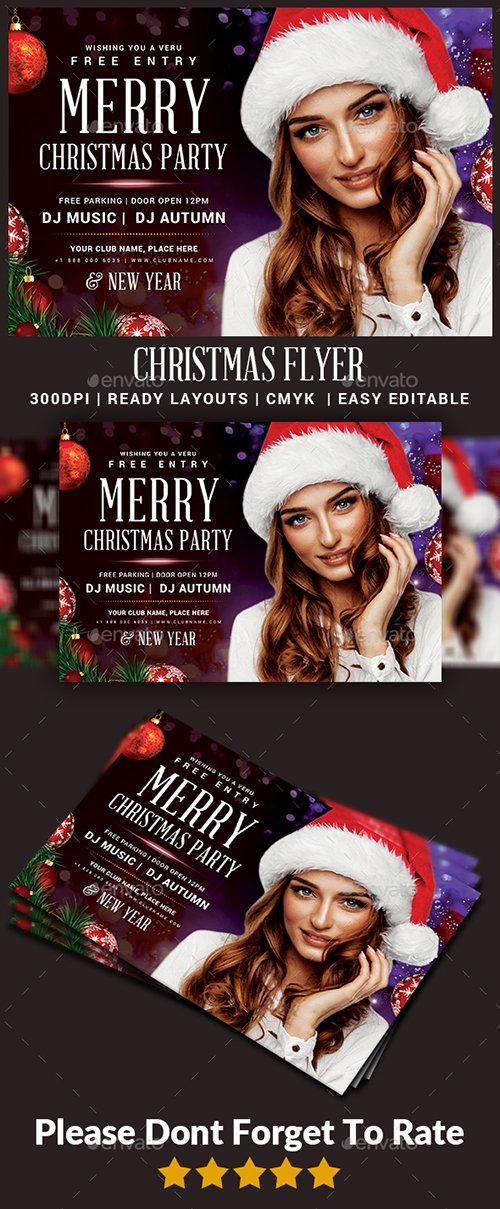 GraphicRiver - Christmas Flyer 22908157