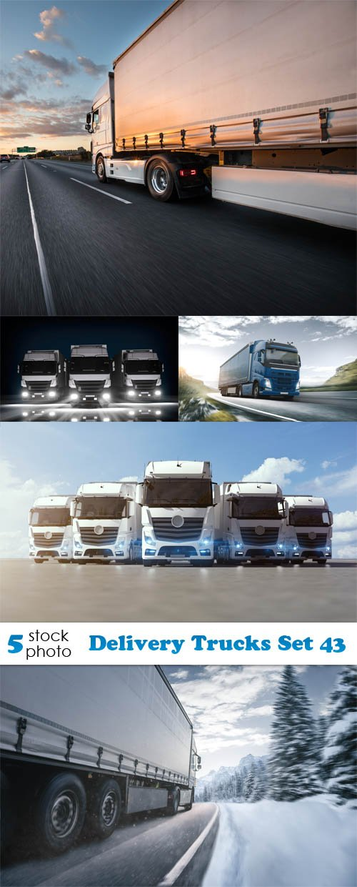 Photos - Delivery Trucks Set 43