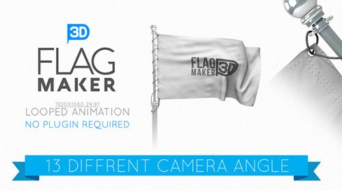 Flag Maker 22663338 - Project for After Effects (Videohive)
