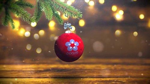 Christmas Ball Logo Opener 099397813
