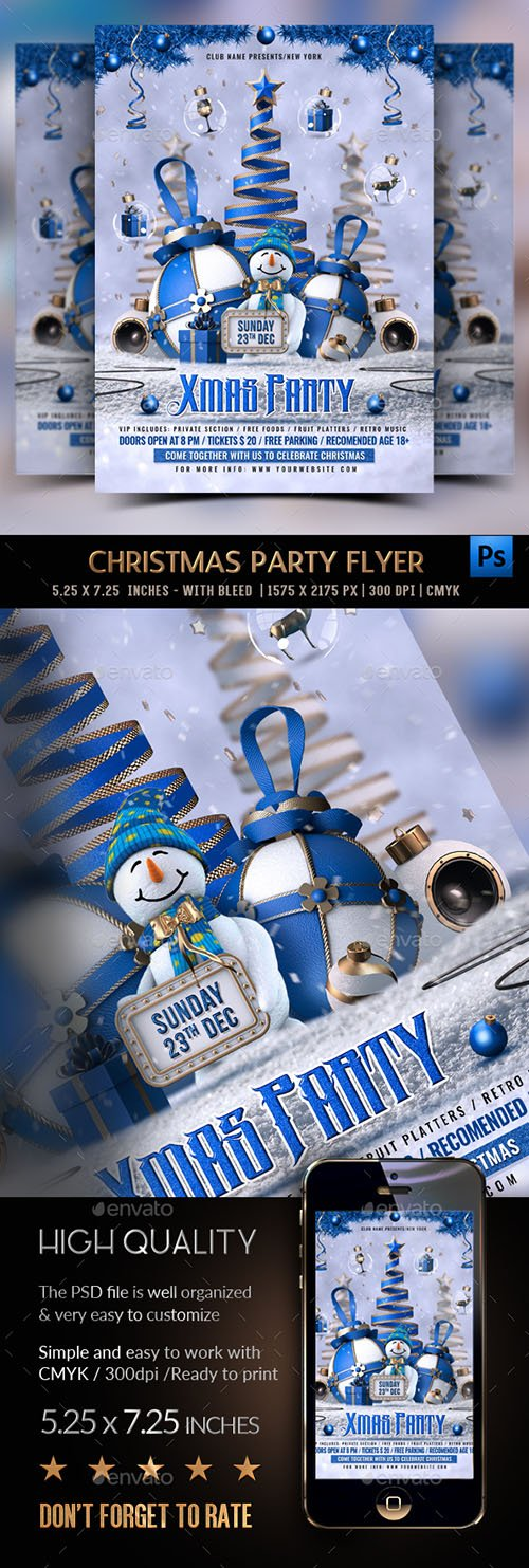 GR - Christmas Party Flyer 22922851