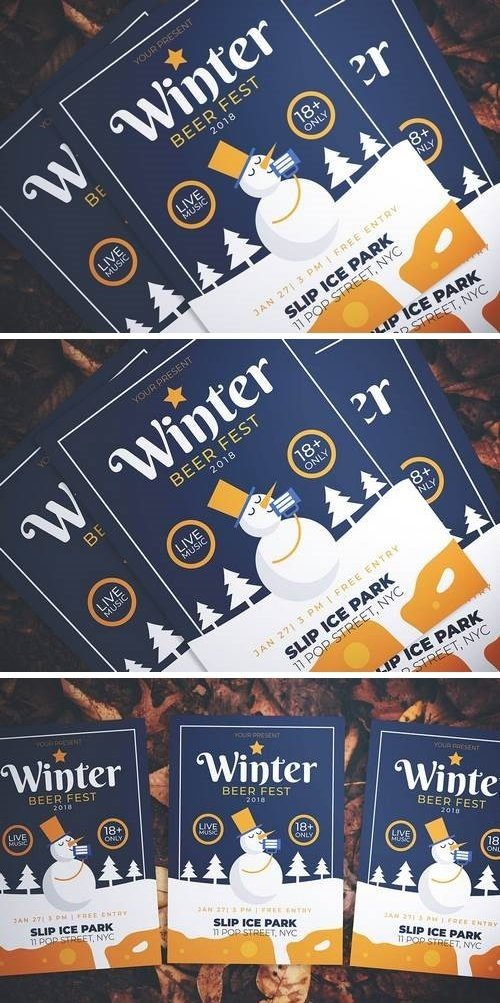 CM - Winter Beer Fest Flyer 3261489