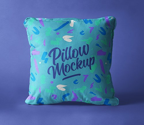 Pillow Mockup Presentation Vol 5