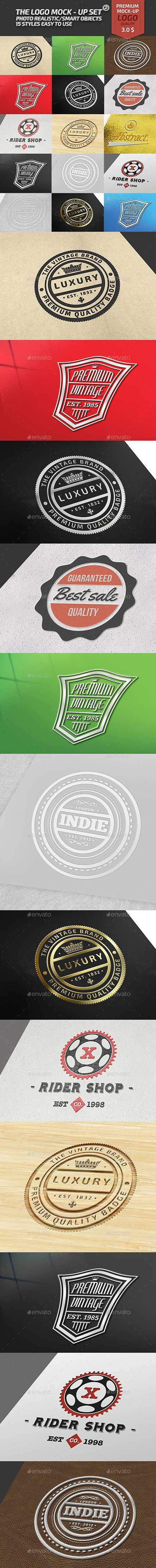 Graphicriver - The Logo Mock-Up Set 2 17965979