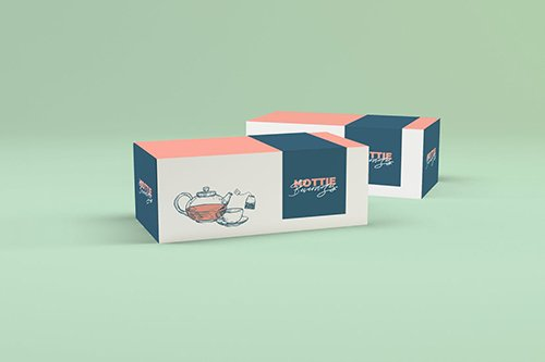 Multipurpose Box Packaging Mockup PSD