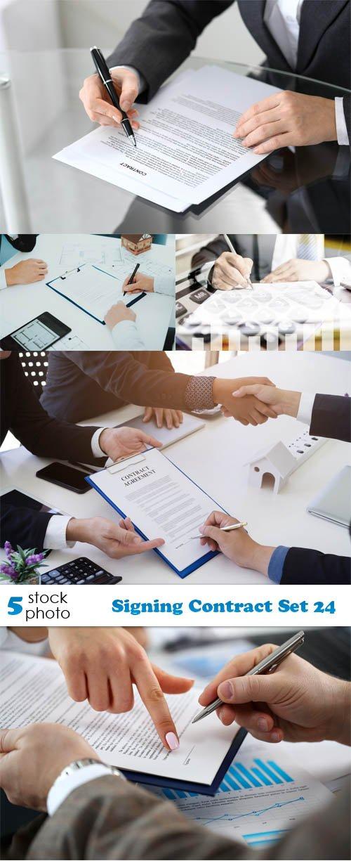 Photos - Signing Contract Set 24