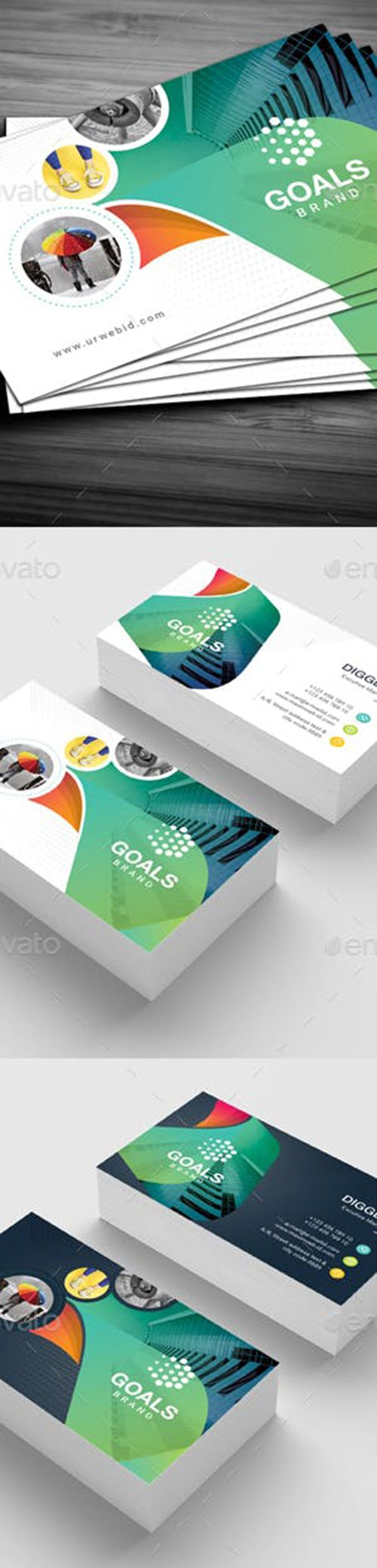 Graphicriver - Business Card 22086805