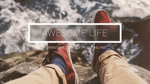 Awesome Life - Project for After Effects (Videohive)