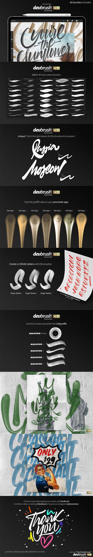 CreativeMarket - DevBrush 4,0 for Procreate 3223559