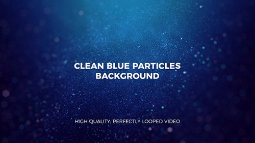 Clean Blue Particles Background 22916545