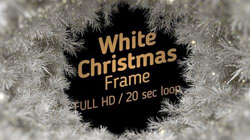 White Christmas Frame 22964160