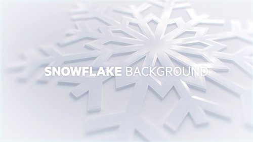 Snowflake Background 18833105