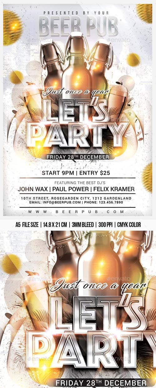 GraphicRiver - Lets Party 22931228