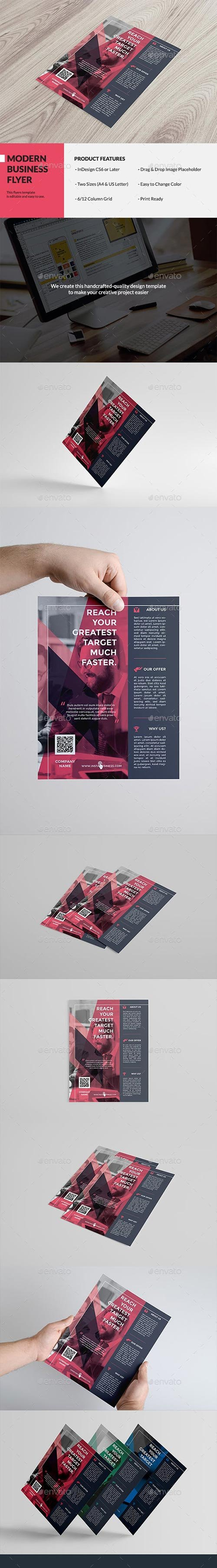 Graphicriver - Swiss Business Flyer 13484009