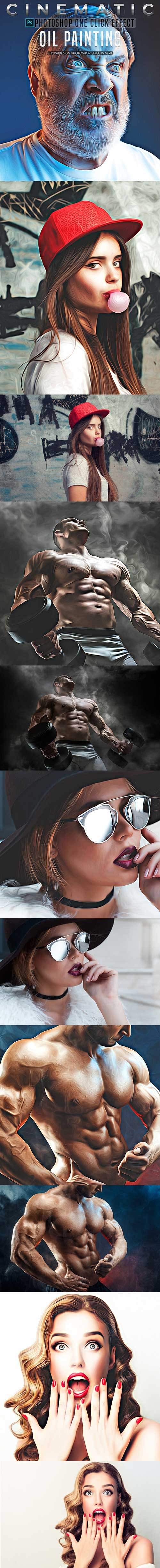 GraphicRiver - Oil Painting Photoshop Actions 22575133