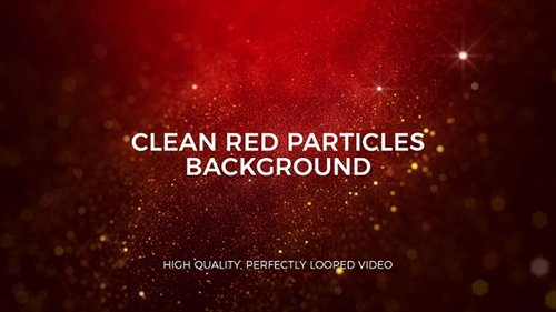 Clean Red Particles Background 23020464