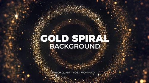 Gold Spiral Background 22603703
