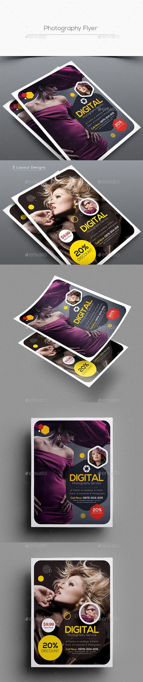 GraphicRiver - Photography Flyer 22588028