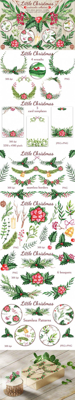 Designbundles - Little Christmas