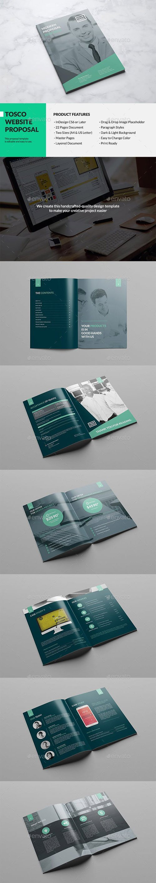 GR - Tosco - Modern Website Proposal 12984210